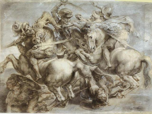 leonardo-da-vinci-the-battle-of-anghiari