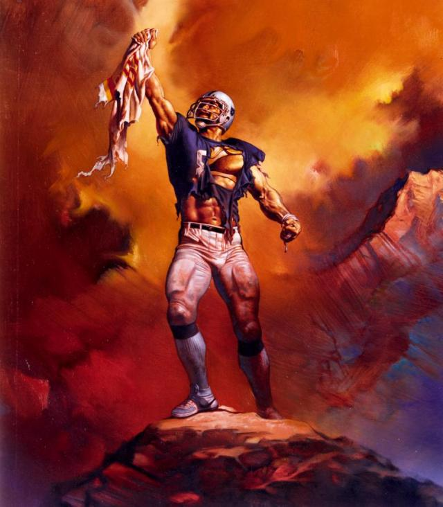 Boris Vallejo - 1982 - Football Hero