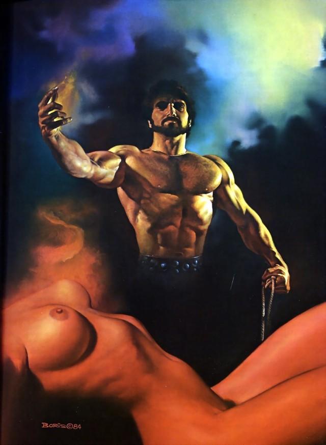 Boris Vallejo - 1984 - Exorcism