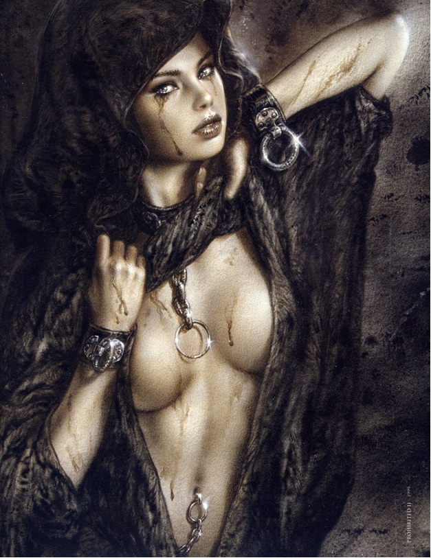 Luis Royo, Prohibited book