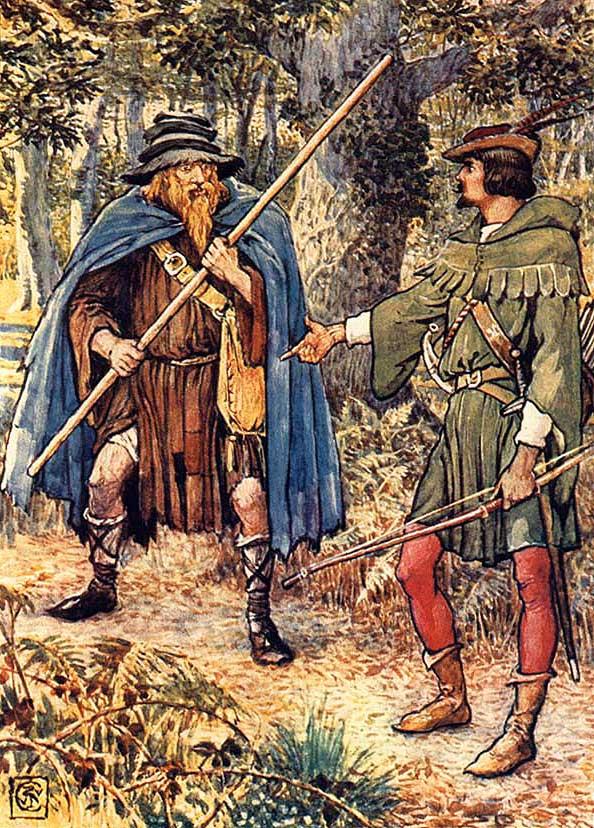 Resultado de imagem para Robin Hood pintura em tela