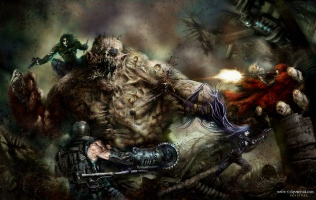the_enchanted_vs_the_troll_by_nick_percival-d5bbr23