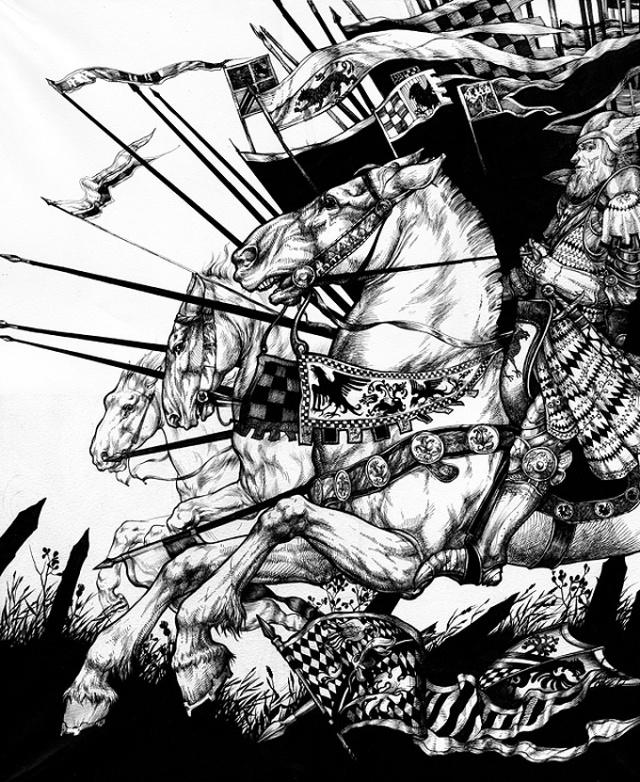 Indrukwekkende-zwart-wit-illustraties-Maria-Surkova-10