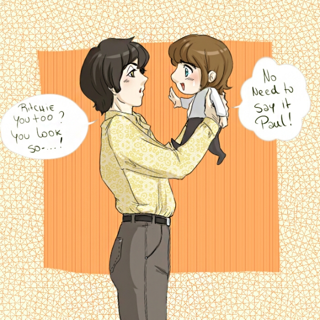 paul_and_chibi_ringo_by_xxohdarling-d4wfc6x