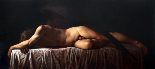 00 Morte di Amore Olio su tela 50x70cm