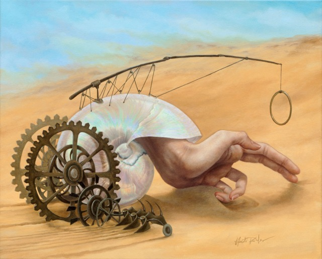 "Heidi Taillefer, ""The Work Forgives the Plow,"" 2007. Oil on panel. 16 x 20 in."