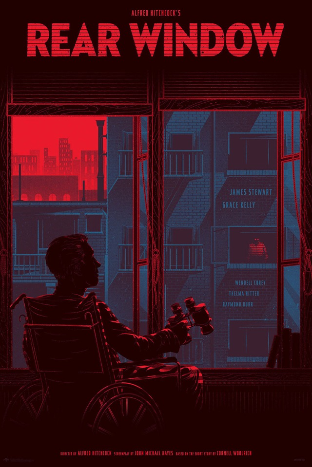 Alfred-Hitchcocks-Rear-Window-Poster-by-Kevin-Tong