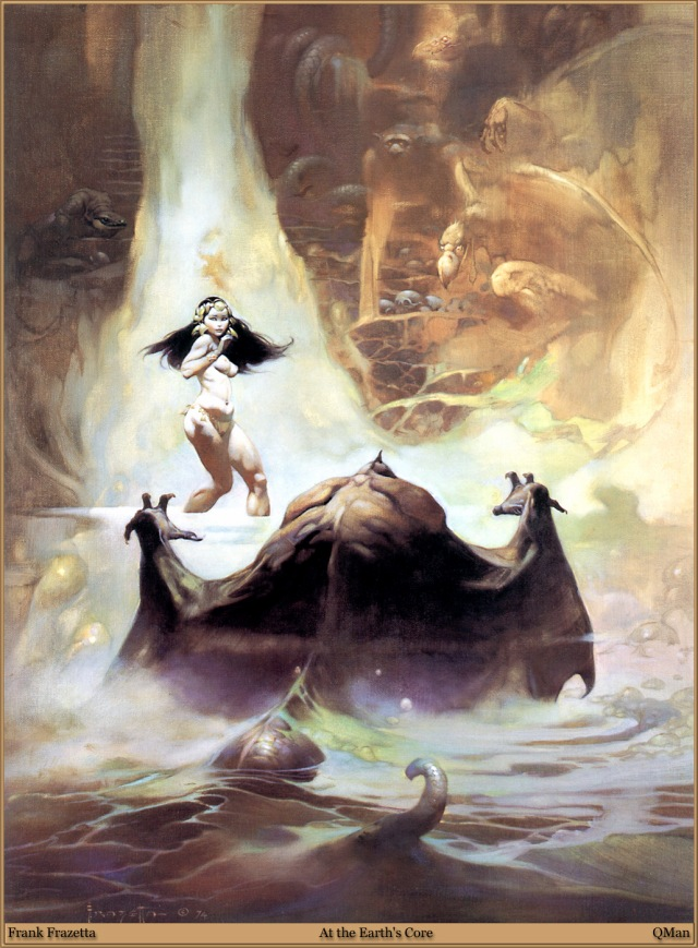 Frank Frazetta - At the Earth's Core