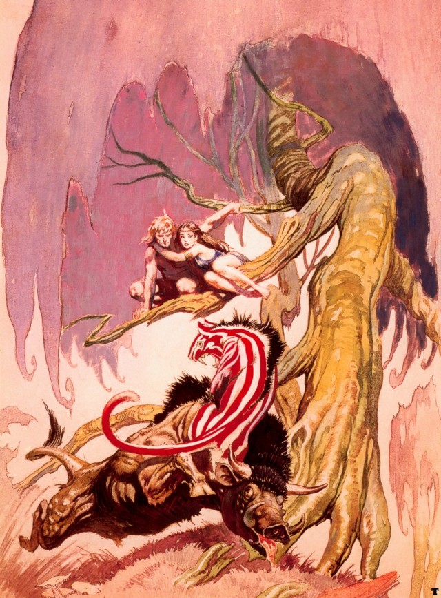 Frank Frazetta - Beasts of Venus