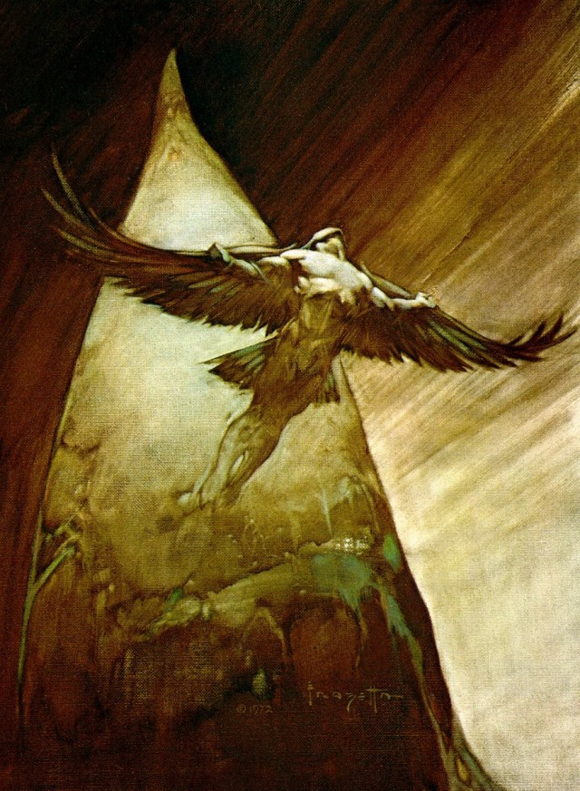 Frank Frazetta - Bird Man