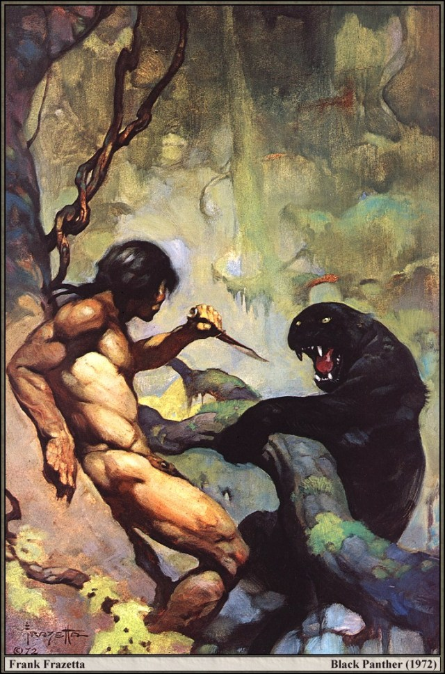 Frank Frazetta - Black Panther