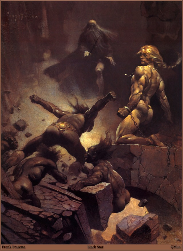 Frank Frazetta - Black Star