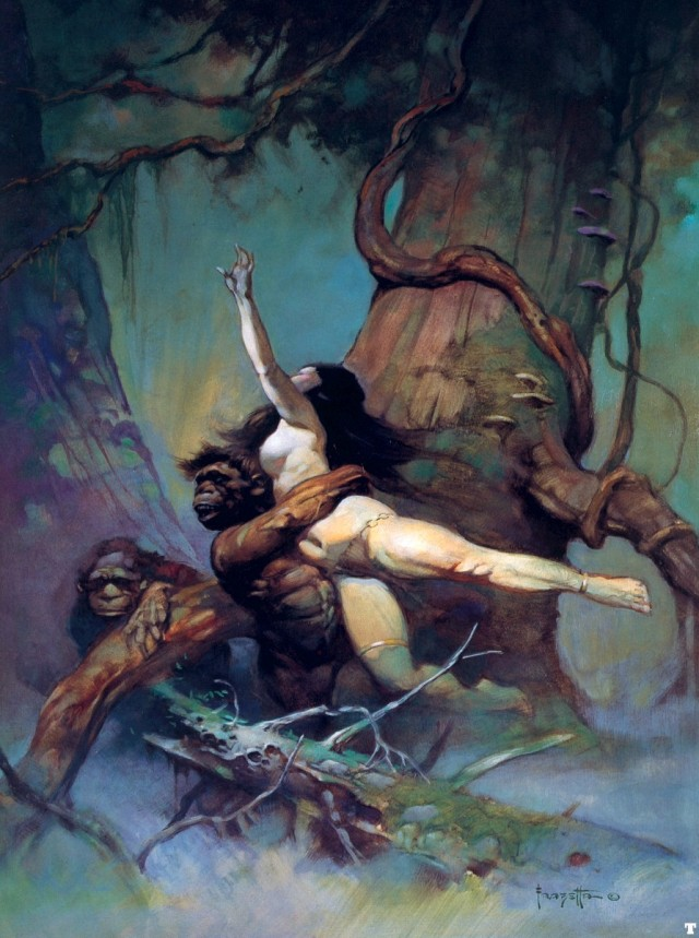 Frank Frazetta - Captive Princess