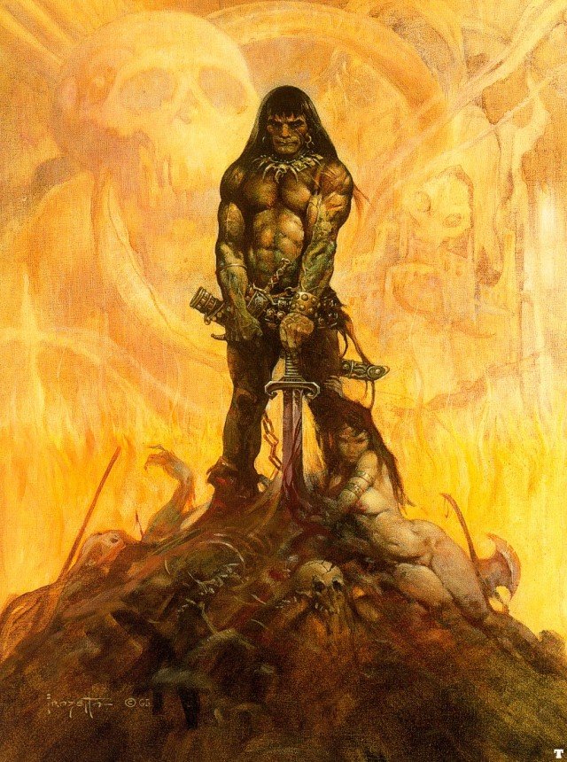 Frank Frazetta - Conan the Barbarian