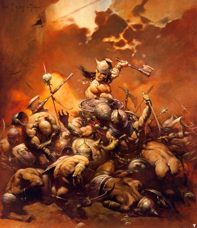 Frank Frazetta - Conan the Destroyer