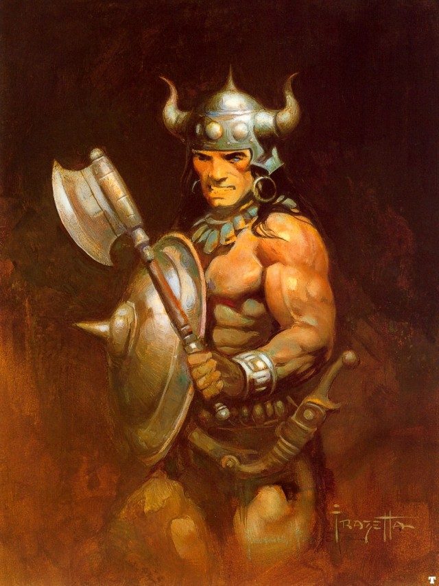 Frank Frazetta - Conan the Warrior