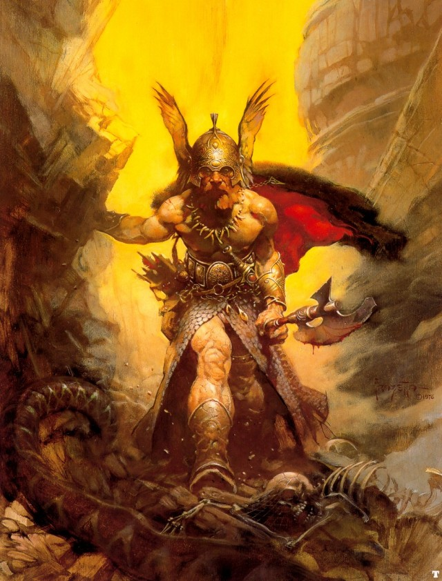 Frank Frazetta - Dark Kingdom