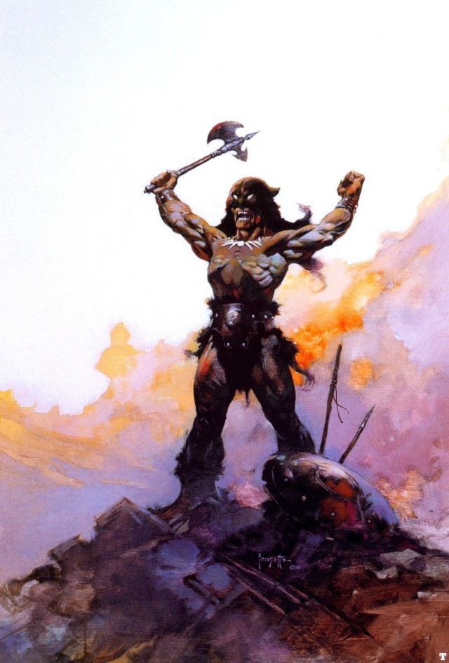 Frank Frazetta - Day of Wrath 1