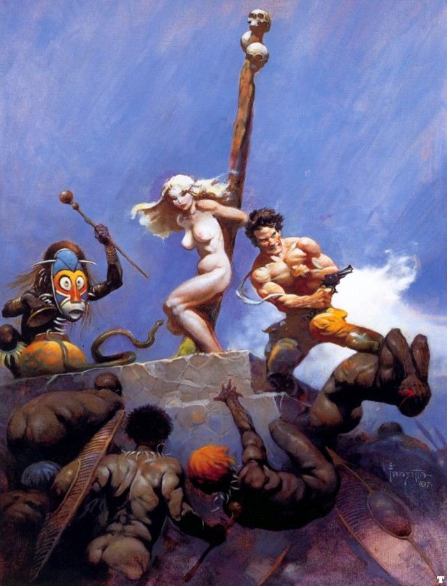 Frank Frazetta - Desperation