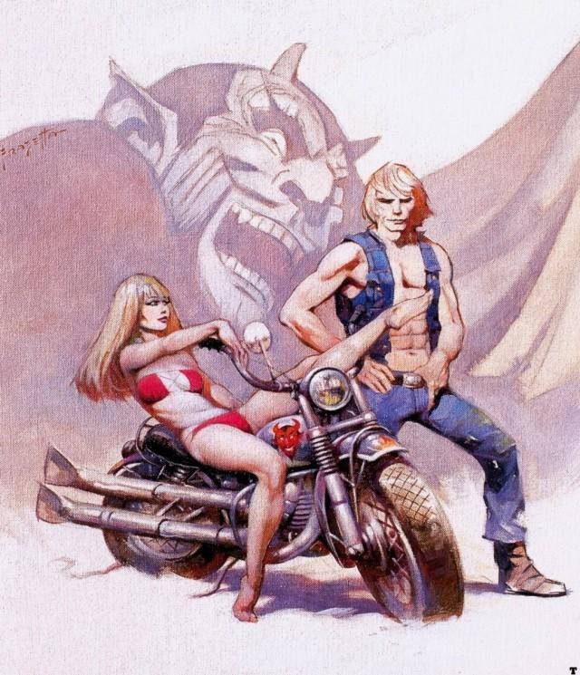 Frank Frazetta - Devil Rider 1