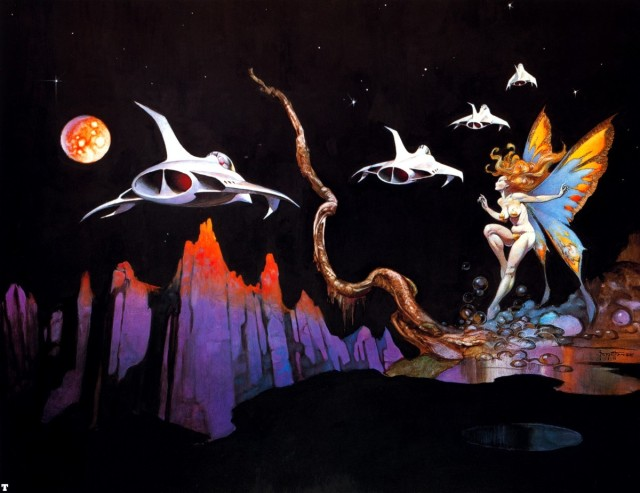 Frank Frazetta - Dream Flight