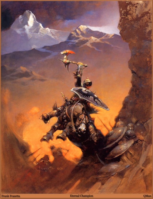 Frank Frazetta - Eternal Champion