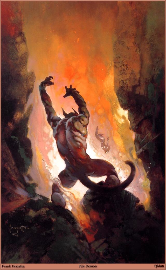 Frank Frazetta - Fire Demon