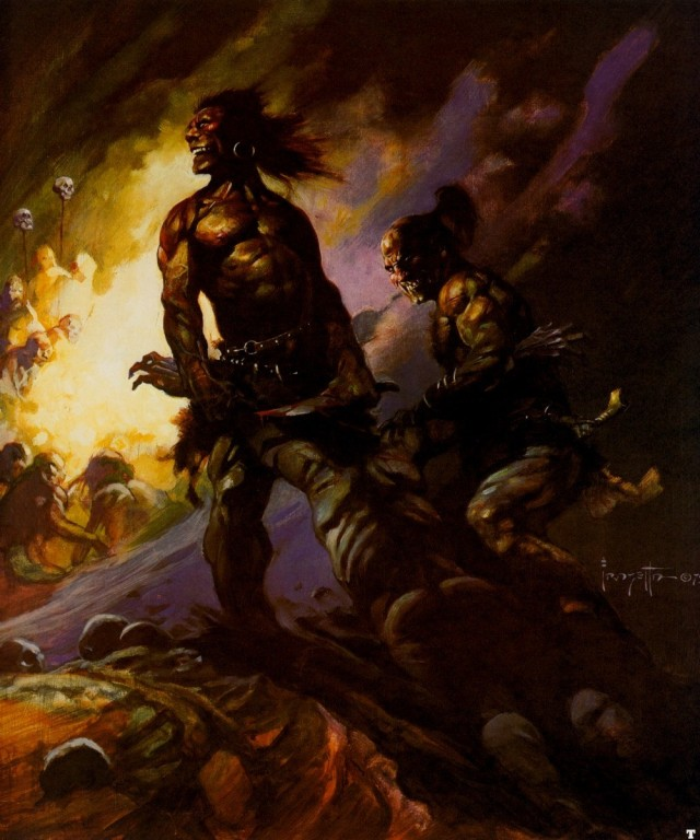 Frank Frazetta - Flesh Eaters