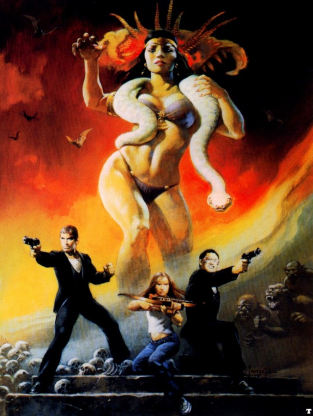 Frank Frazetta - From Dusk 'til Dawn
