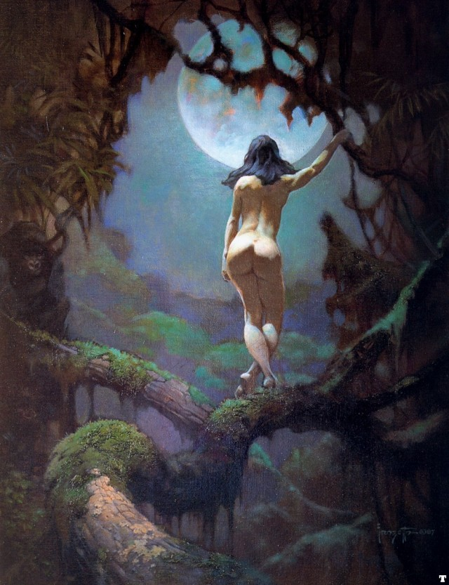 Frank Frazetta - The Moon's Rapture
