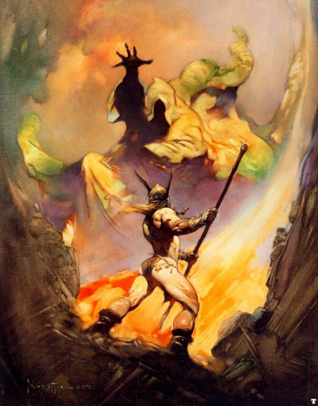 Frank Frazetta - The Norseman