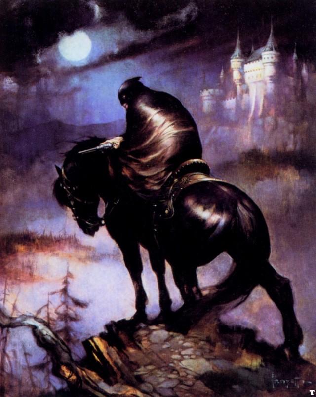 Frank Frazetta - The Rider