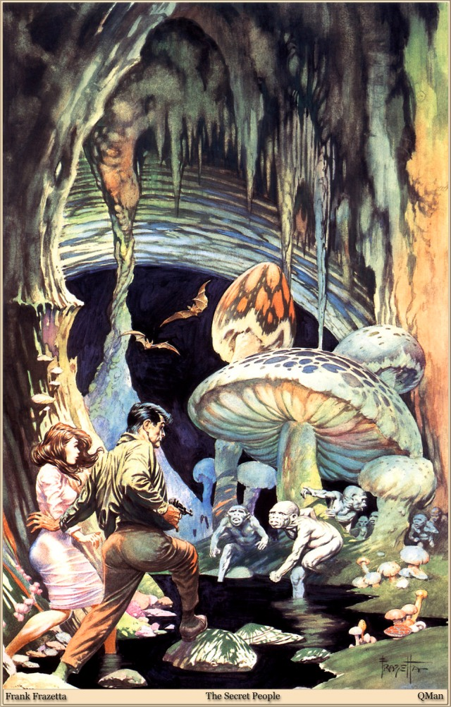 Frank Frazetta - The Secret People