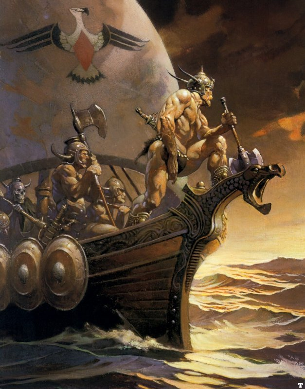 Frank Frazetta - Vikings