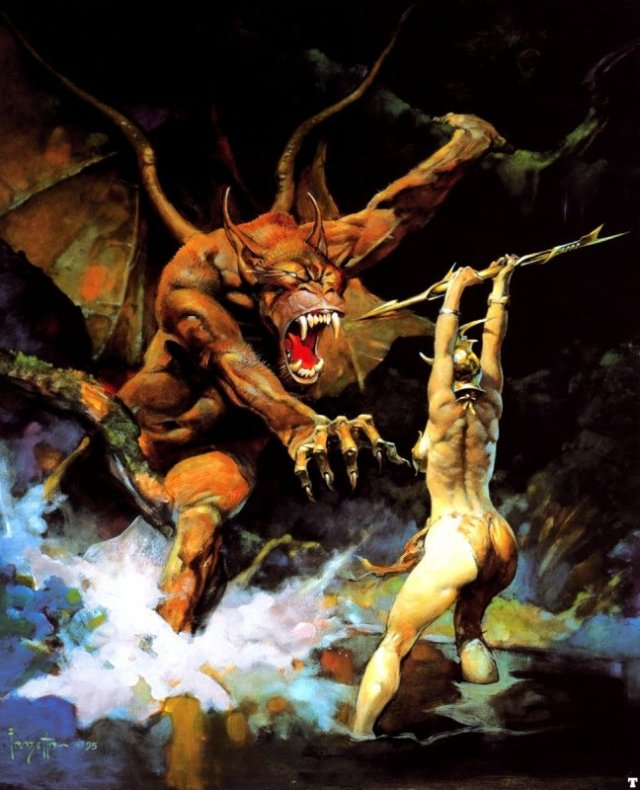 Frank Frazetta - Winged Demon
