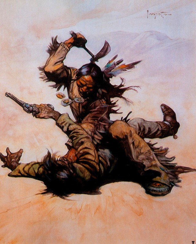 Frank Frazetta - Winter of the Coup