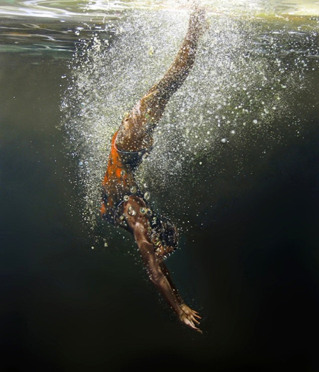 Water-Realistic-Paintings-By-Eric-Zener-Breaking-Free