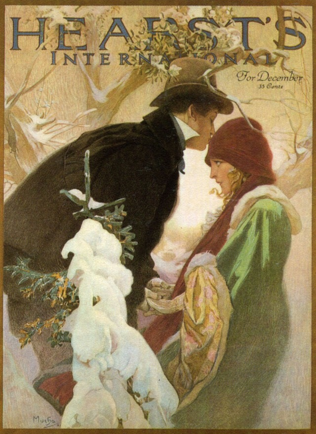 01 1921 Cover for 'Hearst's International' December