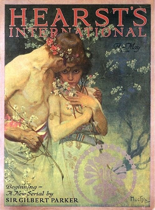 07 1922 Cover for 'Hearst's International' May