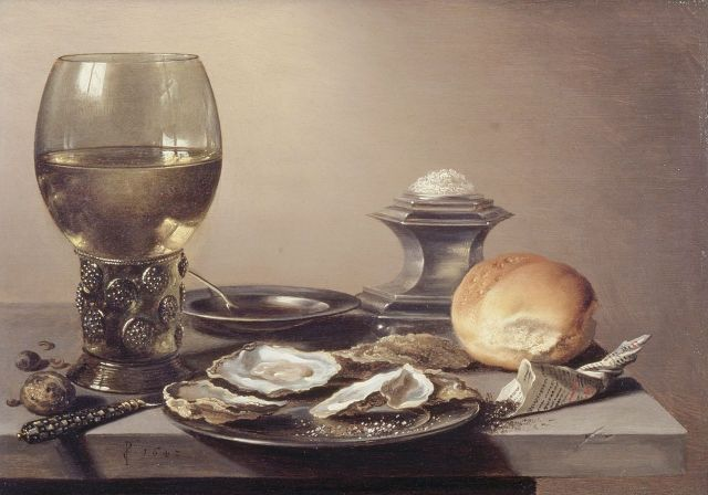 pieter-claesz-still-life-with-roemer-and-oysters