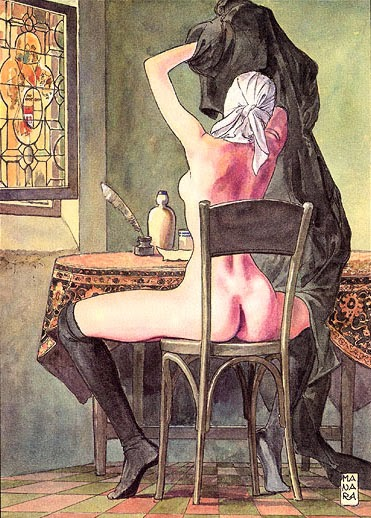 Love Letters from a Portuguese Nun 7 - Milo Manara