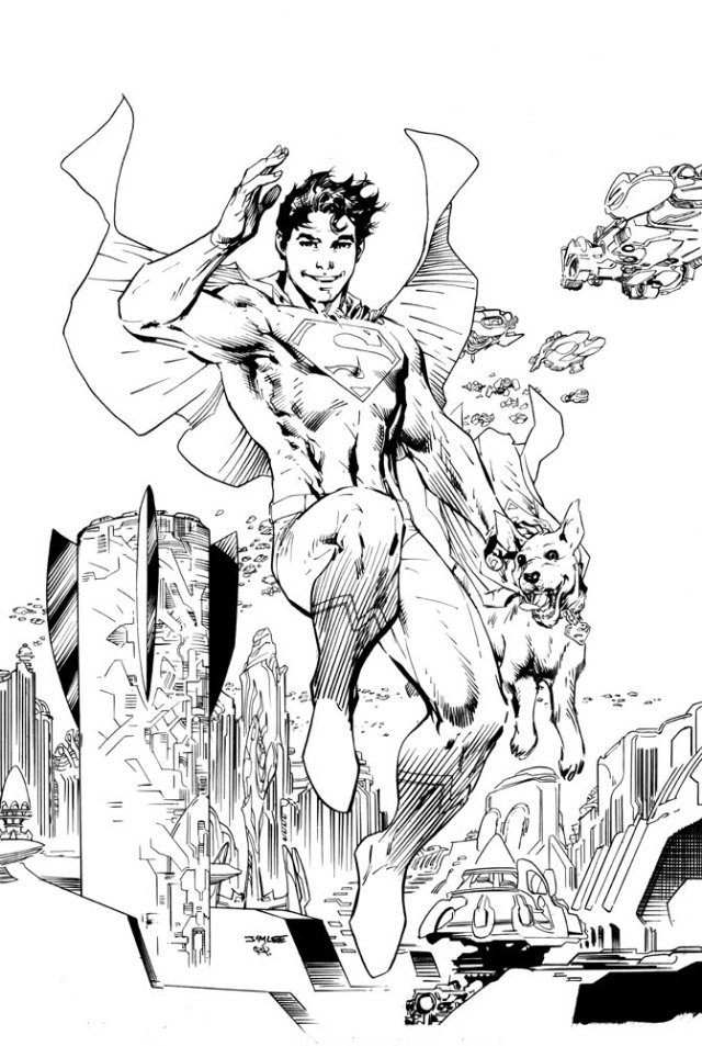 superboy inks small