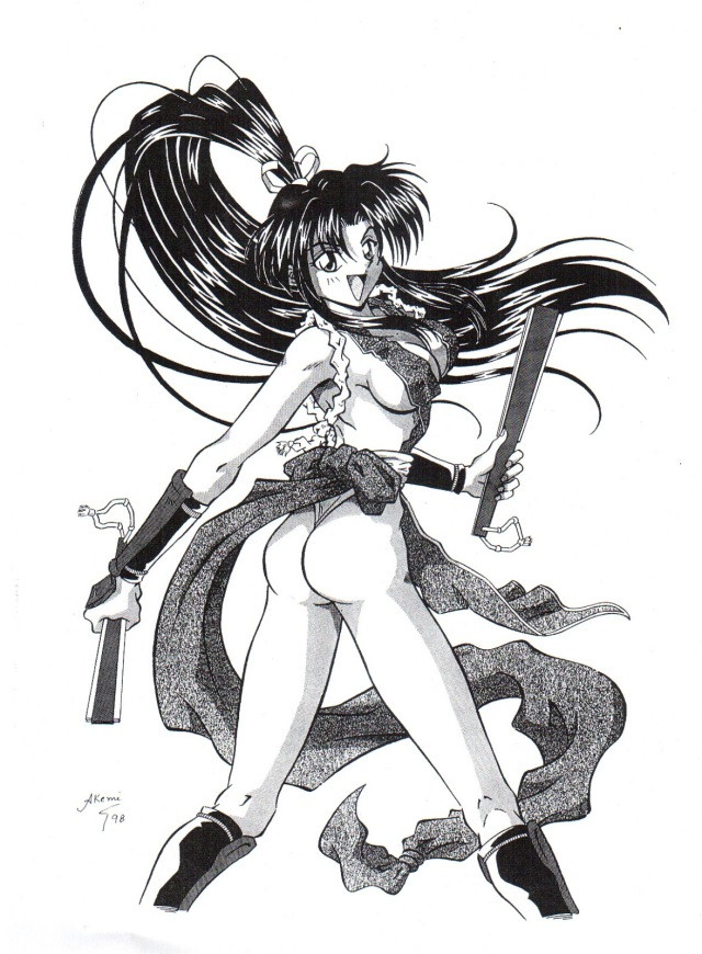 Denise Akemi - King of Fighters 3 - 1999