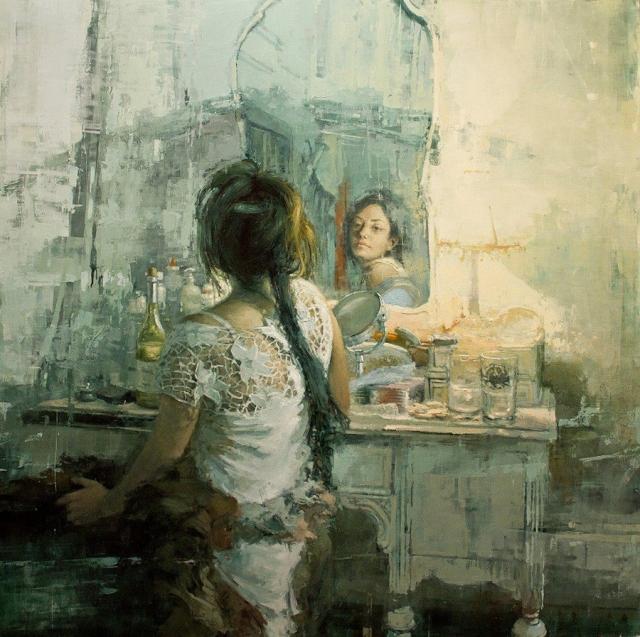 Jeremy Mann 1979 - American Impressionist painter - Tutt'Art@ (33)
