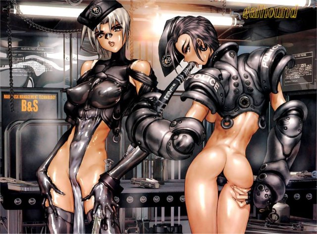 Masamune_Shirow_Intron_Depot_by_jkno4u