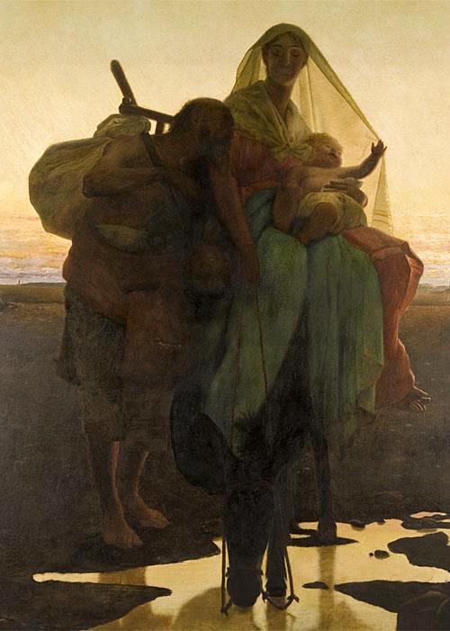 Almeida_Júnior_-_Fuga_para_o_Egito,_1881