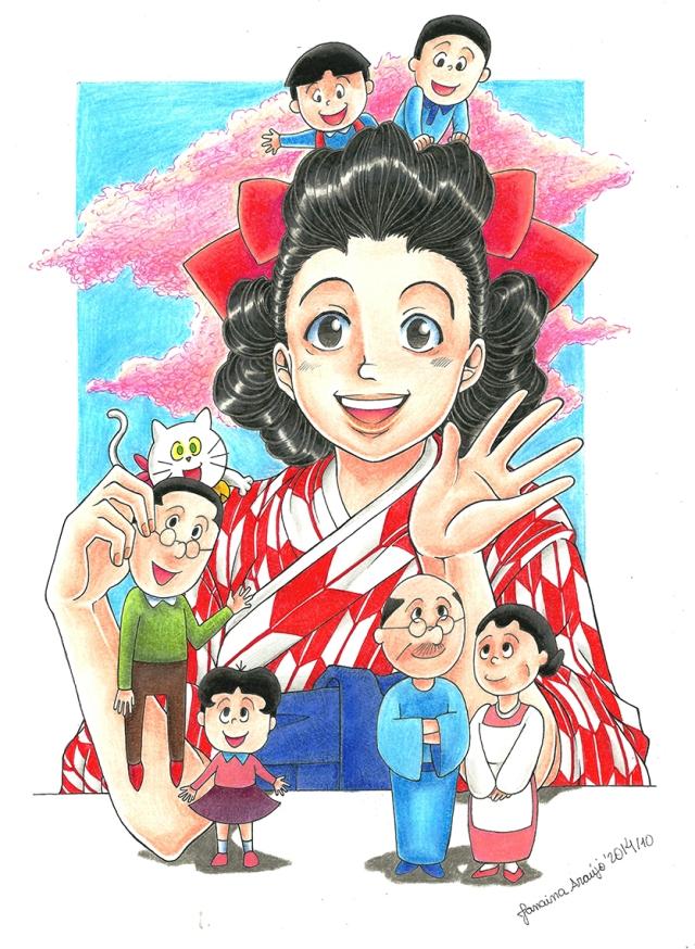 Sazae-san_Machiko_Hasegawa_JanainaAraujo
