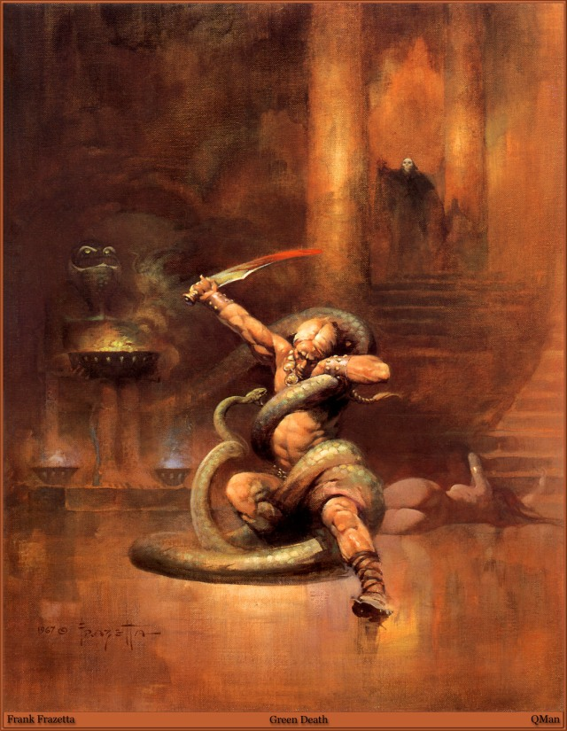 Frank Frazetta - Green Death