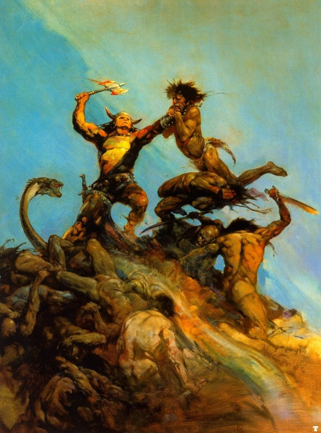 Frank Frazetta - Indomitable