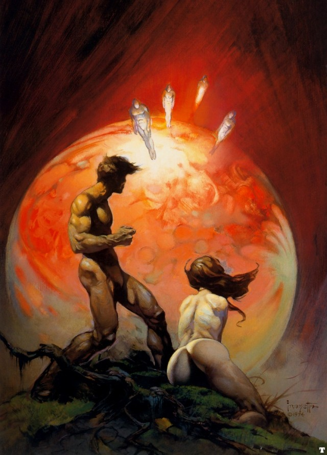 Frank Frazetta - Invaders